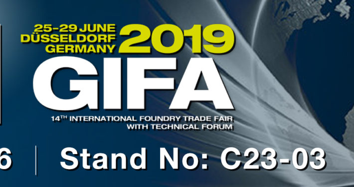TEMC GIFA 2019 Hall 16 Stand No. C23-03